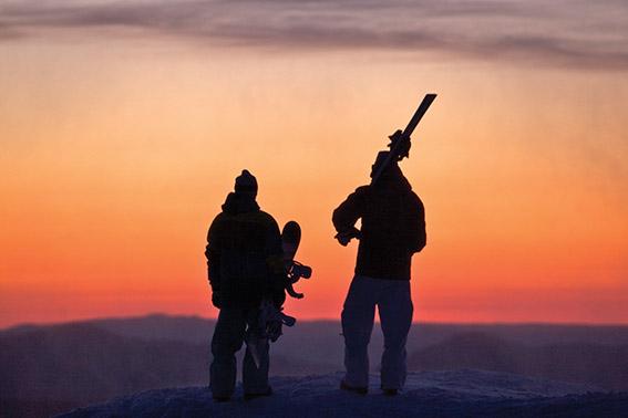 Sunrise at Mt Buller