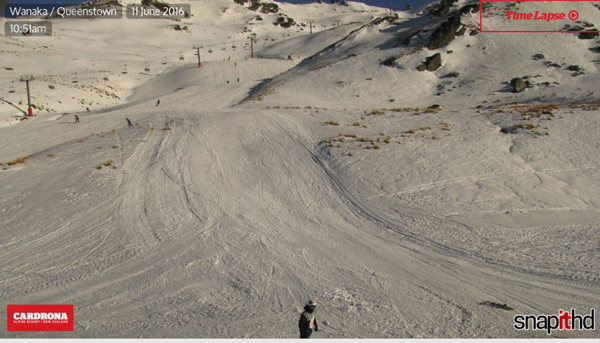 Cardrona looking good back in early June
