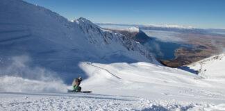 powder day at Ohau ski field