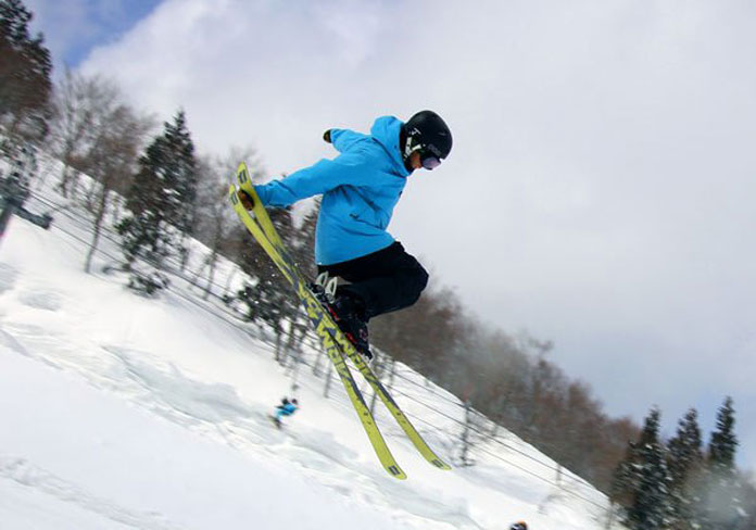 skiing Gala Yuzawa park