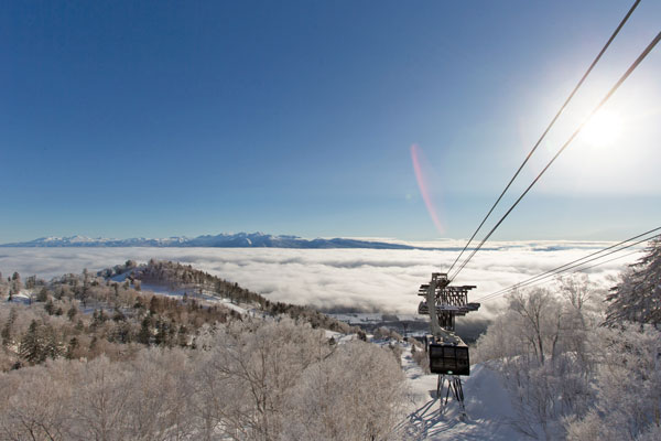 view from Furano