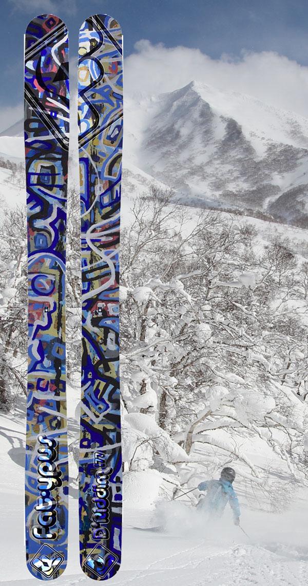 Fat-ypus D/'Riddim Men/'s Skis 177cm NEW 2018
