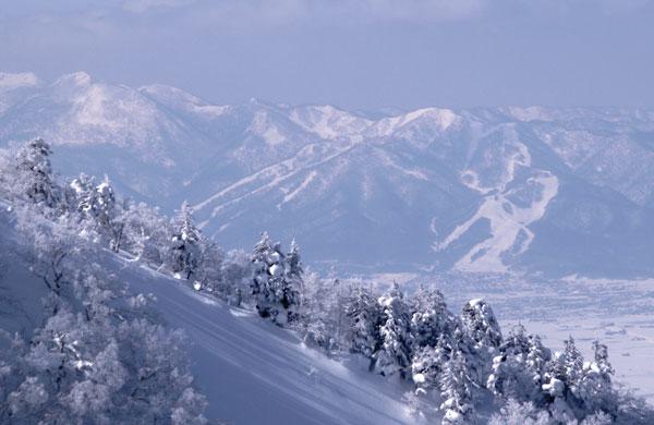 Furano from the Tokachi Mountains