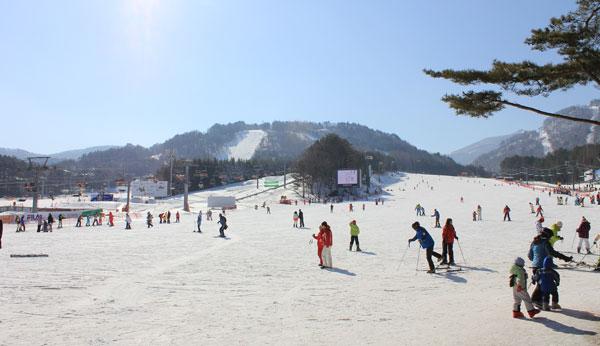 Base area at Yongpyong