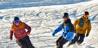 Skiing and boarding at friendly Mt Baw Baw