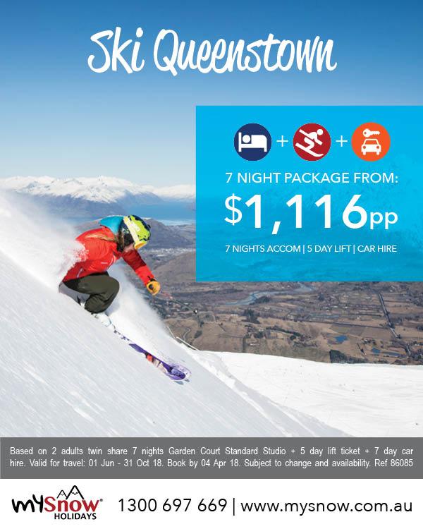 New Zealand Ski Queenstown deals