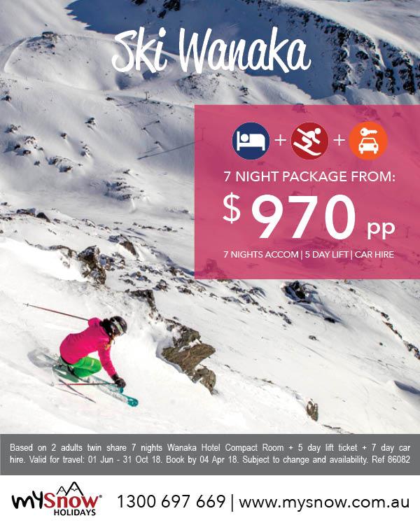 Ski Wanaka deals