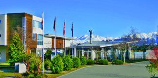 Brinkley Resort view to Mt Hutt