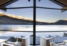 Rees Hotel Queenstown view