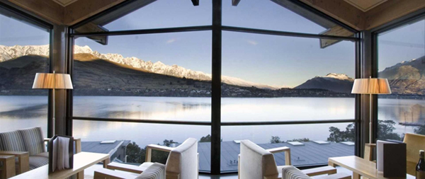 Rees Hotel Queenstown lounge view