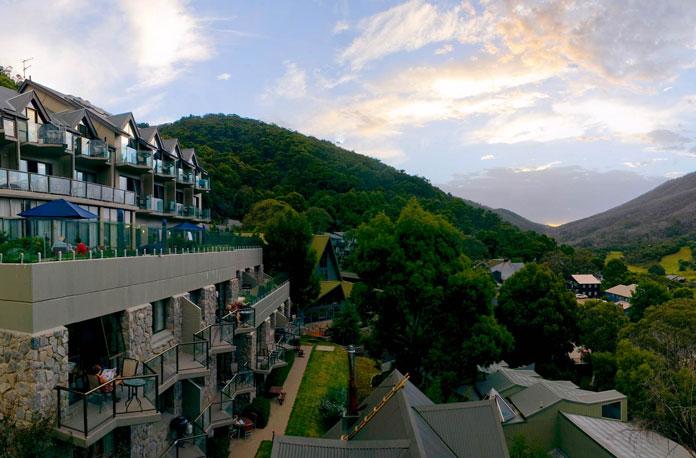 Lantern Apartments Thredbo in summer