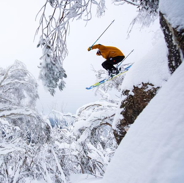 Harrison McInnes skiing Buller