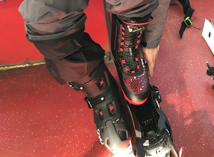 Dahu boot system fitting
