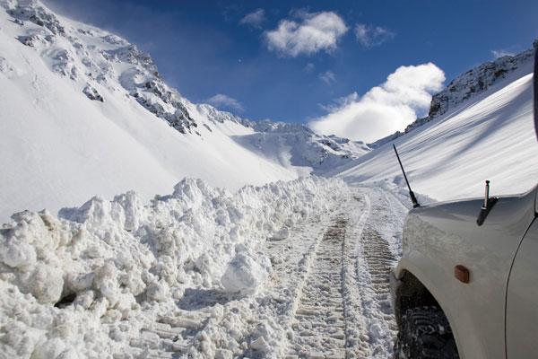 Mt Olympus access road