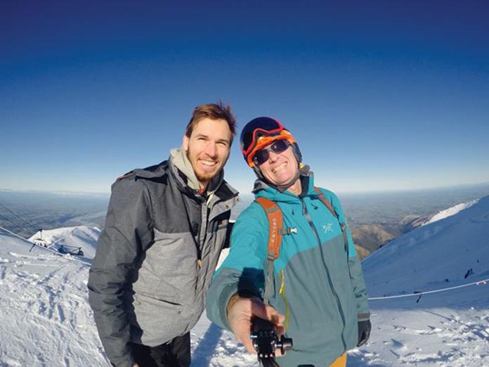 selfie time Mt Hutt