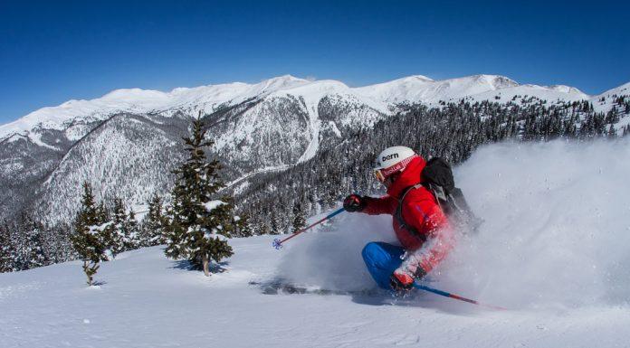 skiing Arapahoe Basin new terrain