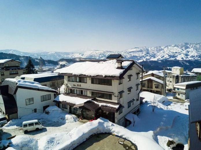 Villa Nozawa exterior view