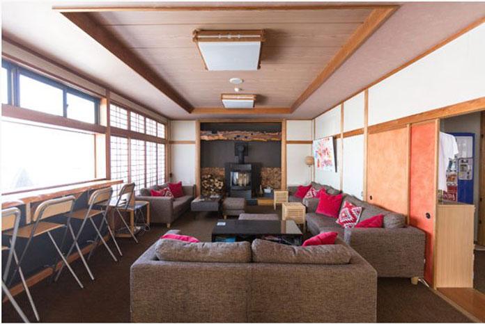 Villa Nozawa lounge