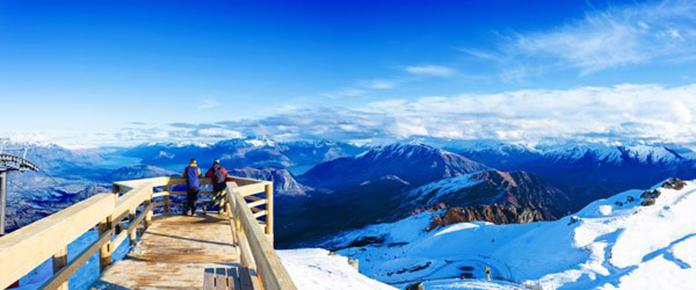 Views Coronet Peak