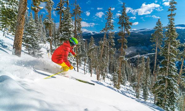 glade skiing Winter Park