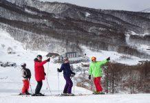 Action Snow Sports family at Madarao