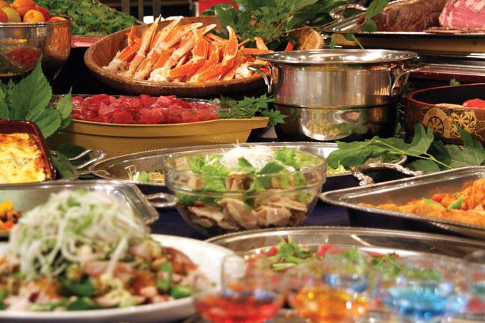 Tangram Madarao Tokyu Resort Hotel dinner