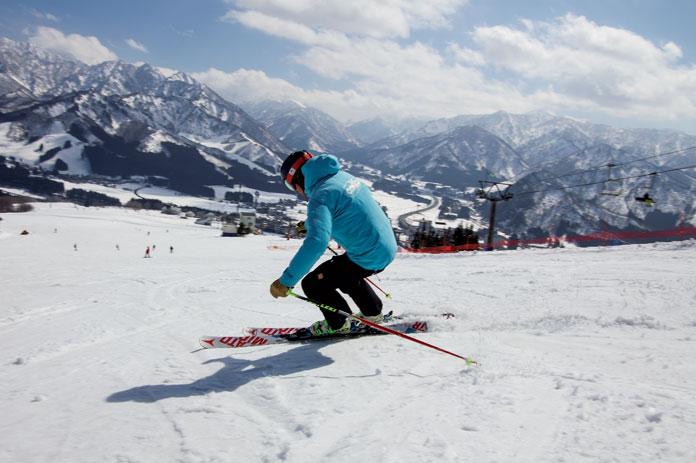 spring skiing Iwappara Yuzawa
