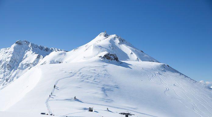 Top view at Silverton Mountain