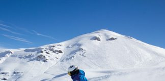 Powder skiing Valle Nevado