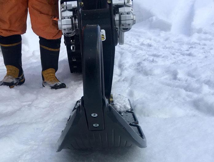 Snow Bike front tyre ski