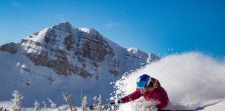 Freeride deep snow at Jackson Hole