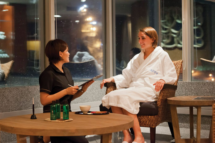 Chill out with spa treatments