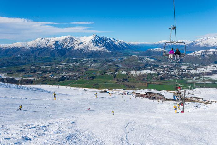 Coronet Peak makes most people's Top 5 New Zealand Ski Areas list