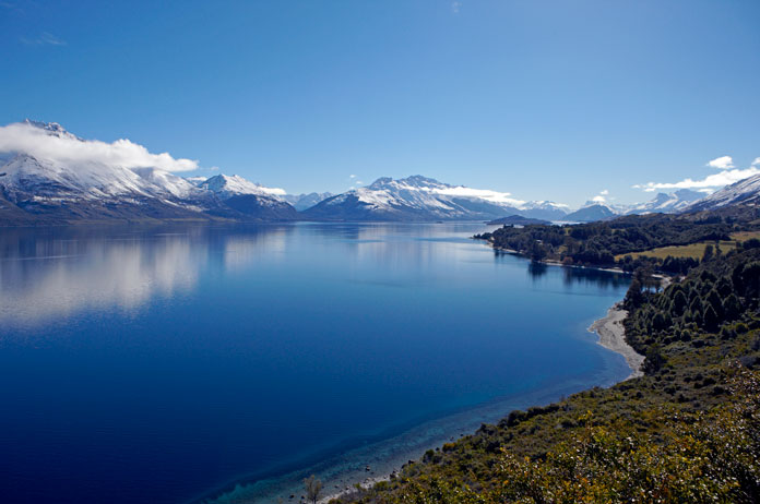 Incredible views on the drive from Queenstown to Glenorchy