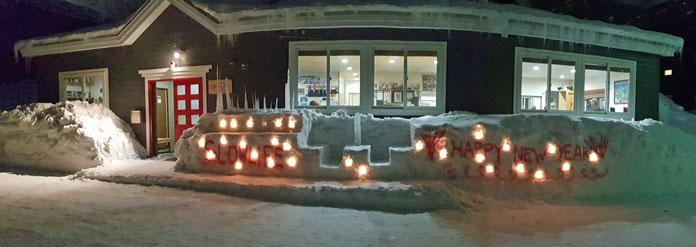 New Year's Eve at Slowlife Lodge Niseko