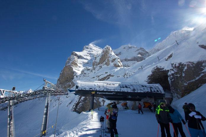 Top of Eiger Nordwald lift
