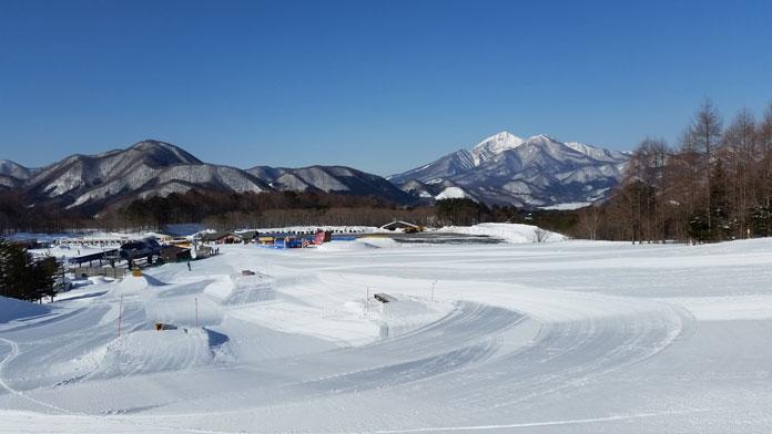 Numajiri Ski Resort terrain park