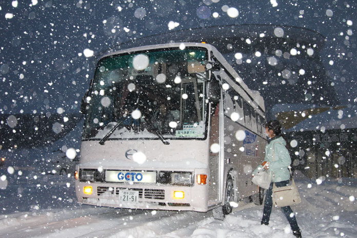 Use the JR East Tohoku Pass to get to Kitakami station then Geto Kogen's free bus