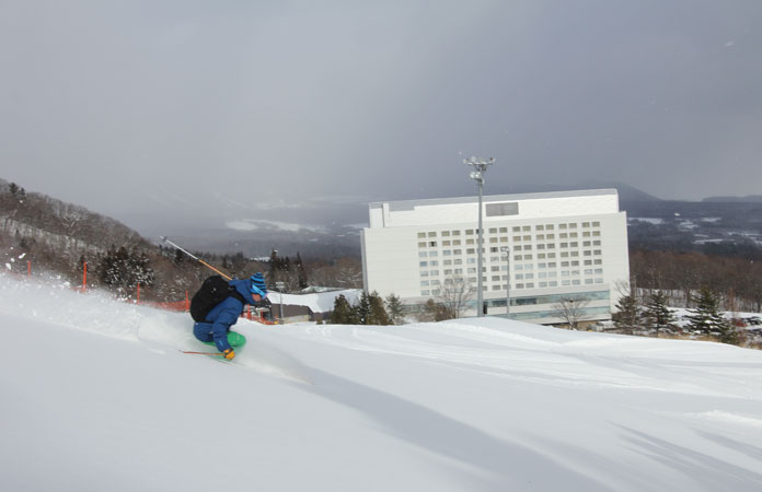 Ski in ski out at Shizukuishi Resort