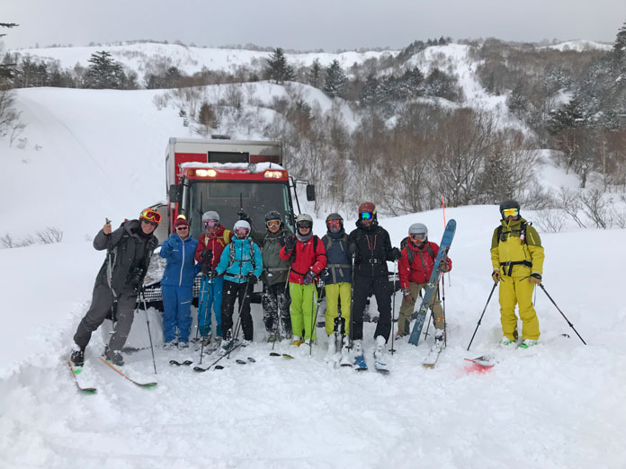 The JR East Tohoku Pass opens up several great little cat ski operations like Hachimantai Cat Tours