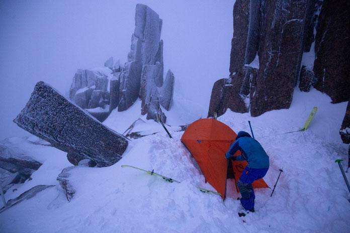Summit camp Cradle Mountain, Tasmania