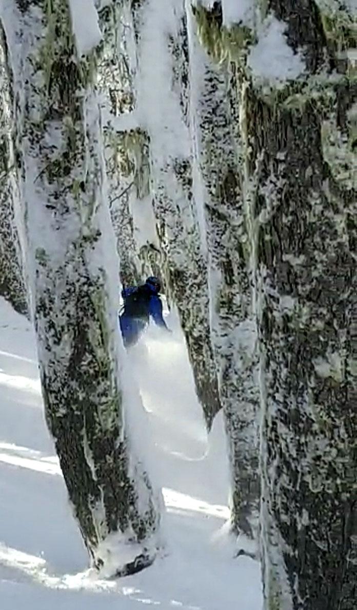 Southern Hemisphere's best tree skiing, Cerro Catedral Argentina