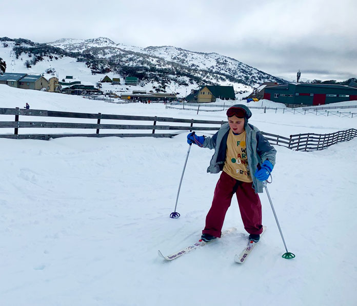 Cross Country skiing at Perisher