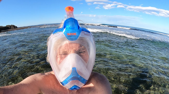 Snorkelling is more fun with GoPro MAX, especially the 'submarine sonar' sound from the 6 microphones built in