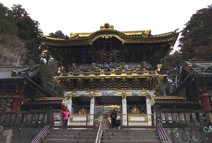 Yomeimon Gate Toshogu World Heritage Site