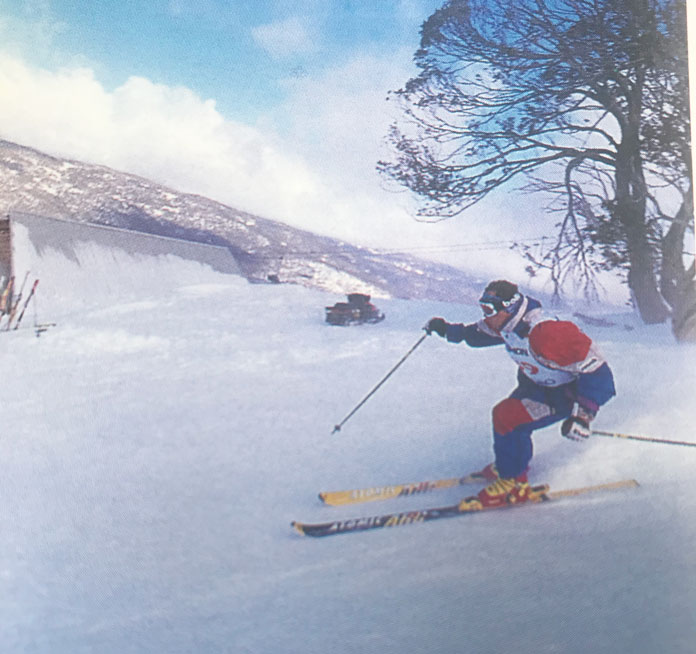 Nick Kirshner Max Vert Challenge at Thredbo setting record for most runs in a day