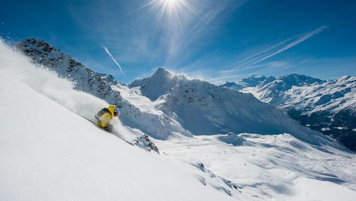 Freeride Spirit off Mt Gélé Verbier