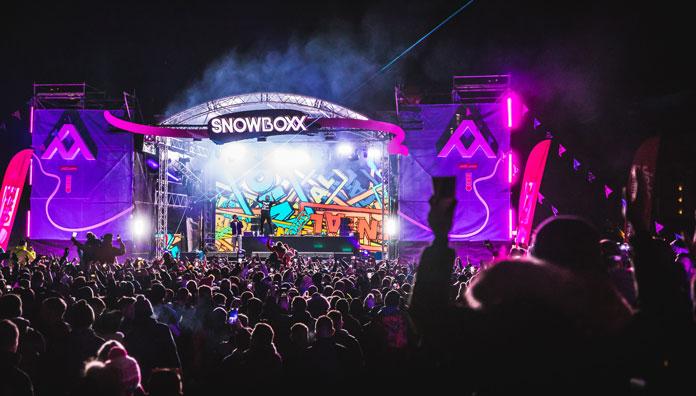 Snowboxx Festival stage