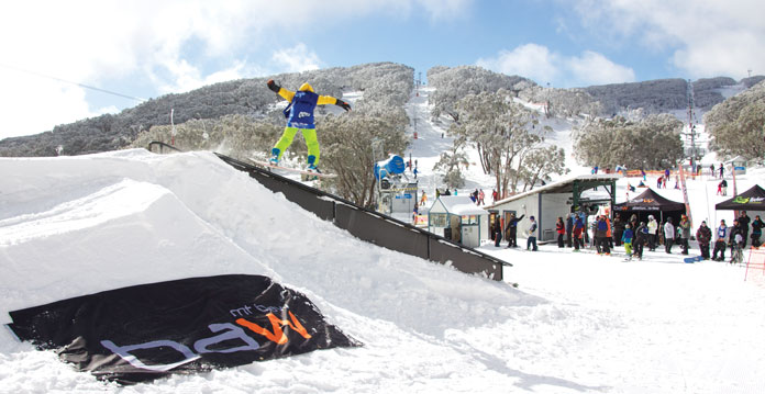 Battle at Baw Baw showcasese the best young talent on the mountain
