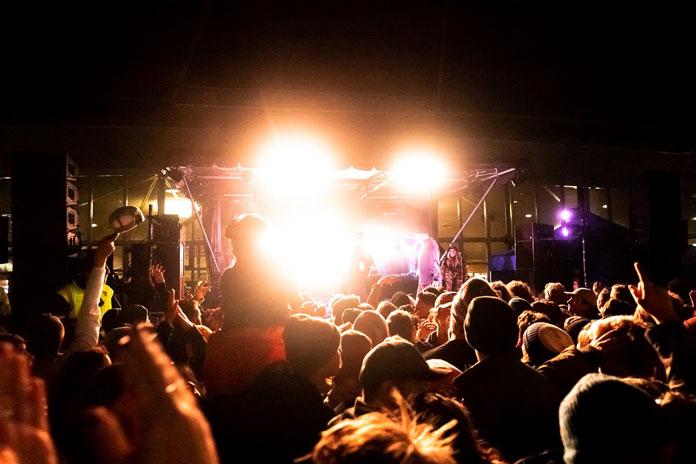 Live music Coronet Peak night ski party Queenstown
